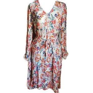 Anthropologie Patrons of Peace | Floral BOHO Dress